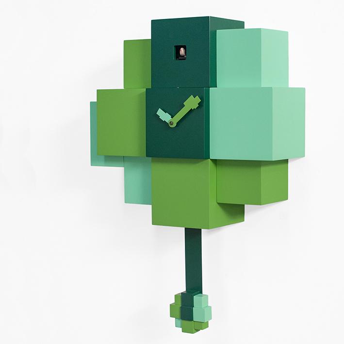 CHOCO . cuckoo – green