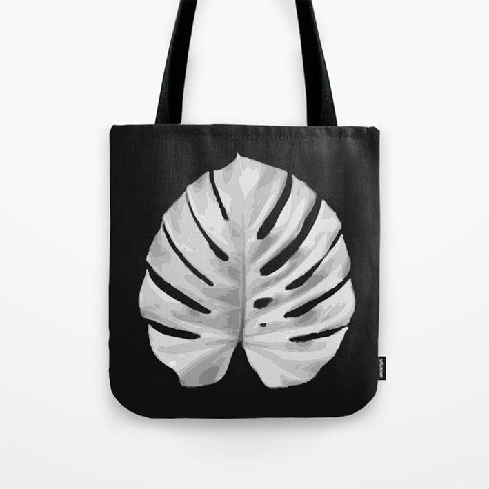 MONSTERA #3 bags detail
