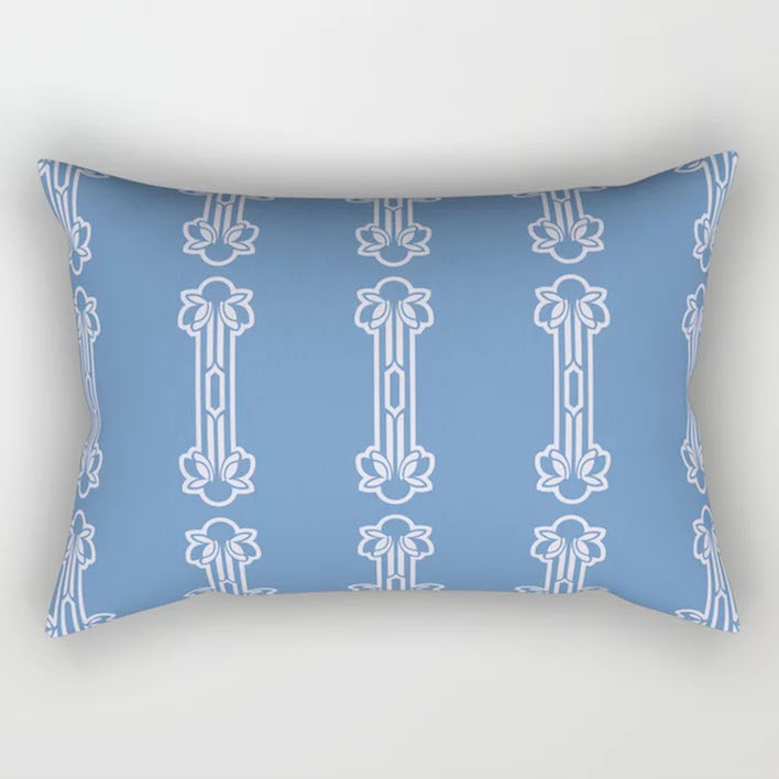 FLEURIE #1 RECTANGULAR PILLOW